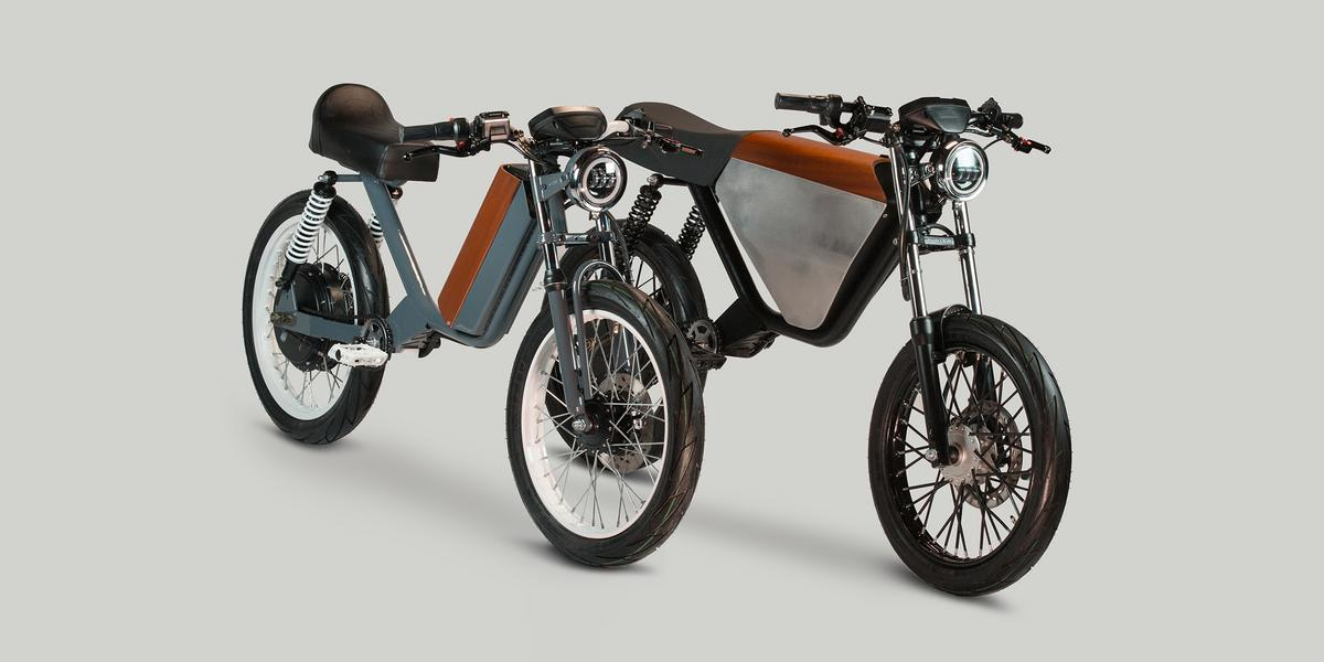 These neo-retro e-bikes pack in enough power to raise the question: when do these things become motorcycles?