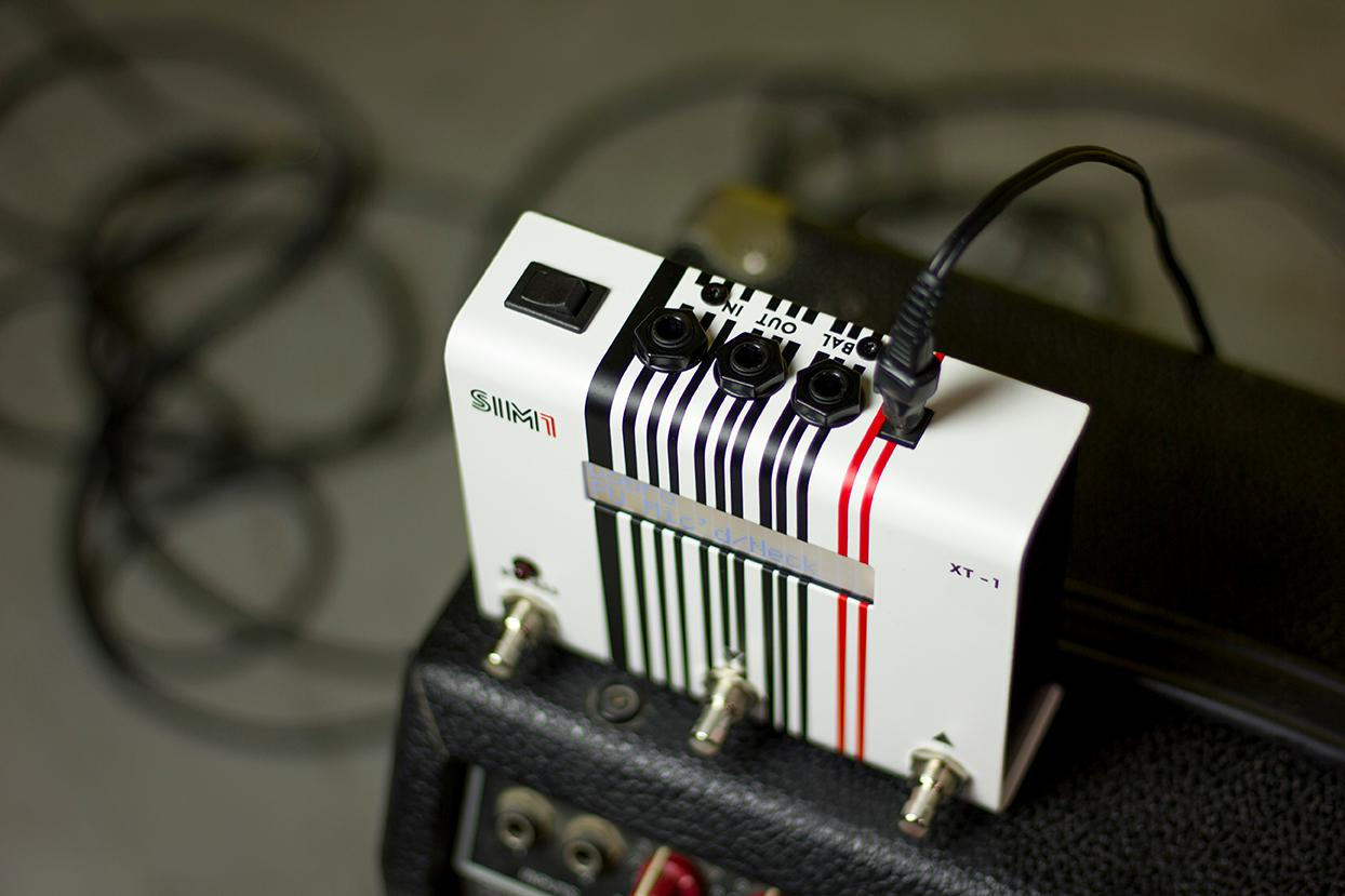 The XT-1 doesn't rely on sampling or MIDI, but makes use of something Sim1 is calling Smart Tone Shaping