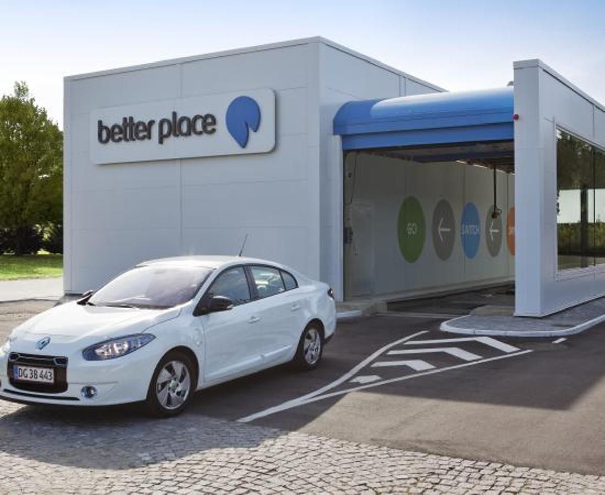 Battery-swapping company, Better Place, has filed a motion to be put into liquidation