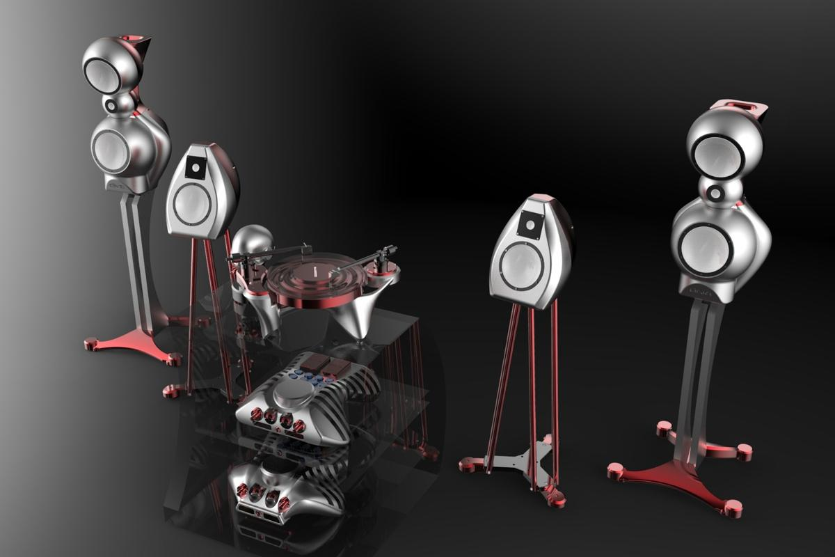 The Metaxas PP! turntable will be showcased at the Munich High End Show as part of the Statement collection