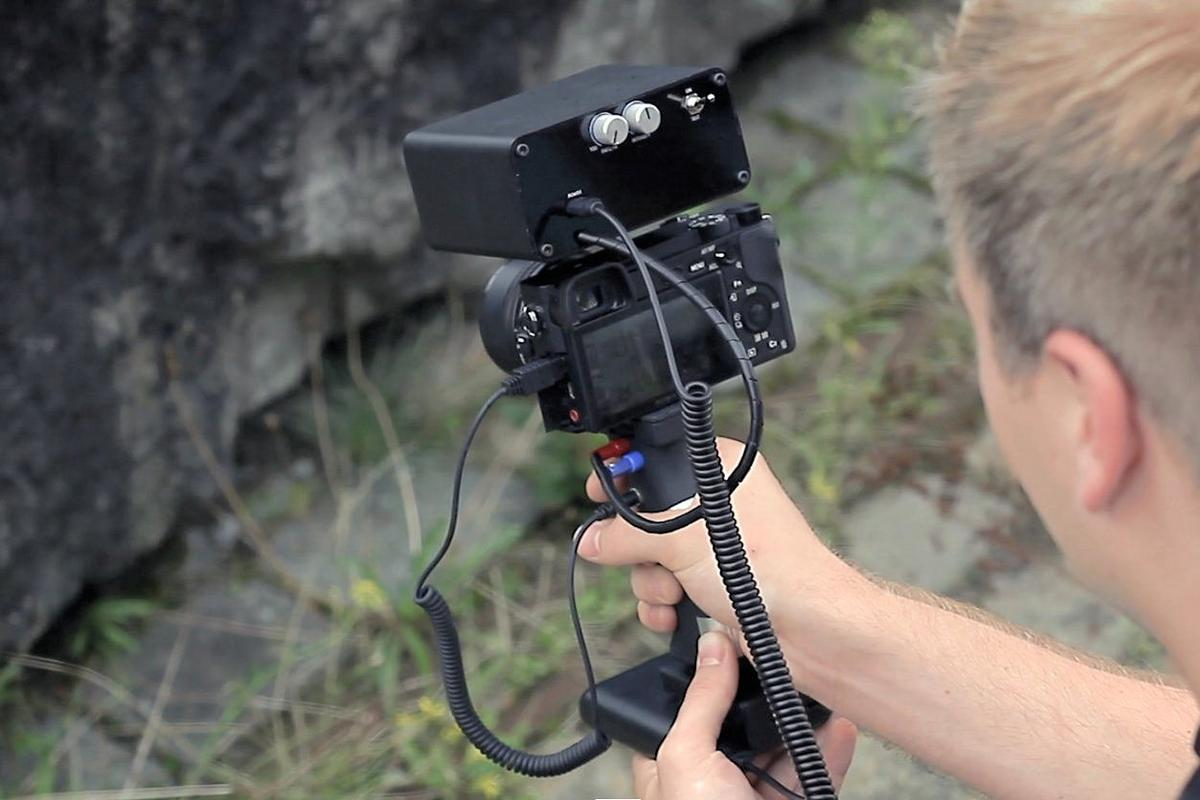 Point and shoot gets a shocking twist courtesy of theProsthetic Photographer camera attachment