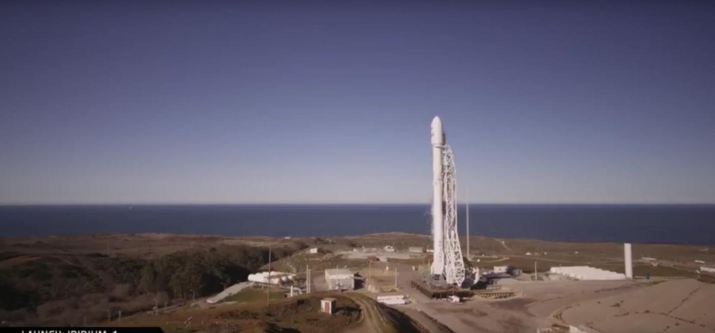 Iridium-1 moments prior to launch