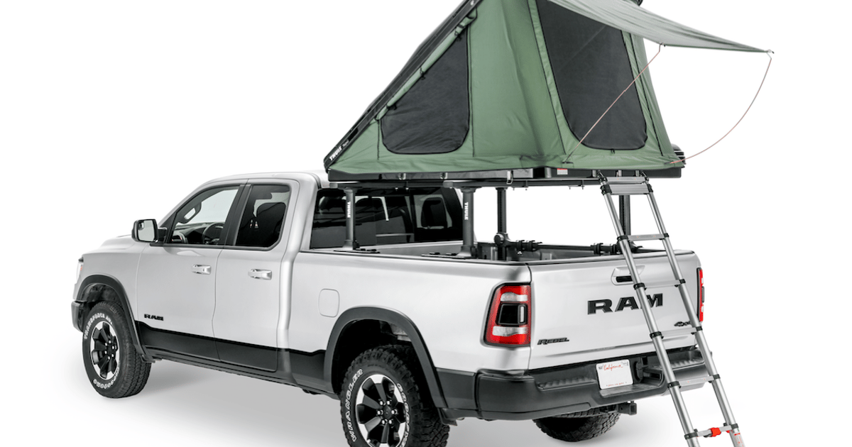 Thule roof-top tent makes for fast, light camping and gear shuttling