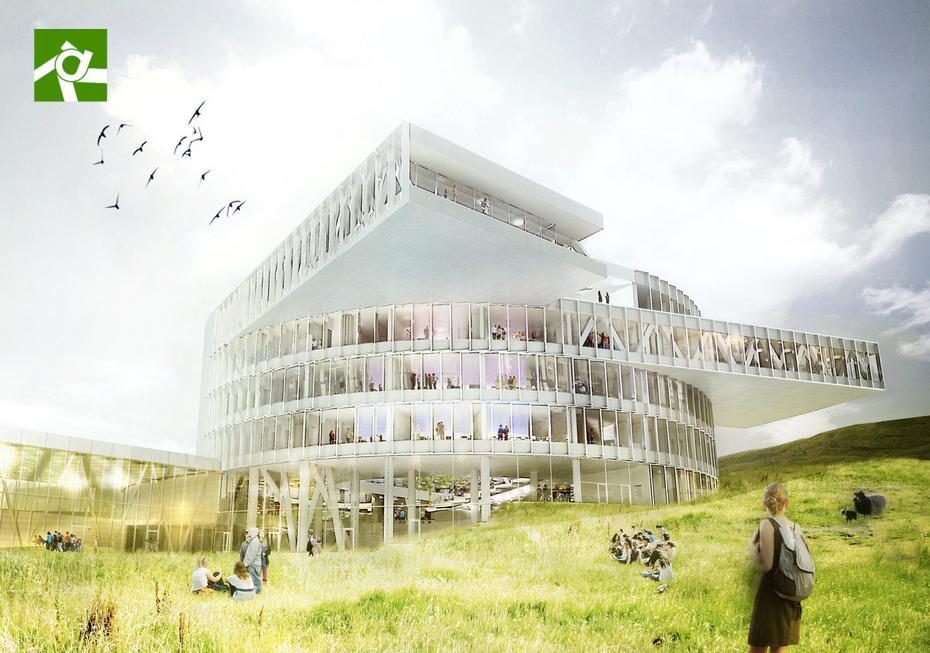 The Faroe Islands Education Center (Image: BIG)