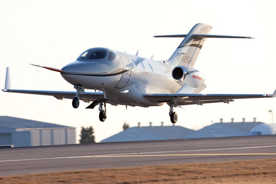 The HondaJet completed its maiden flight on Dec. 20