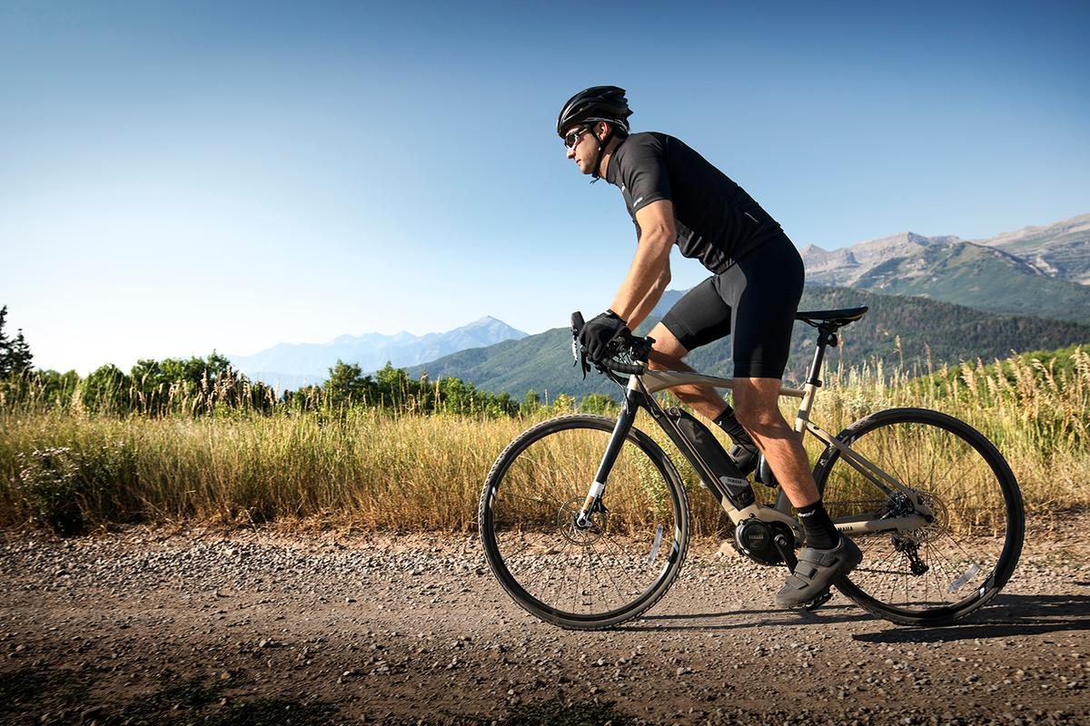 The YamahaWabash Adventure Gravel e-bike is built for rolling roads or dirt trails