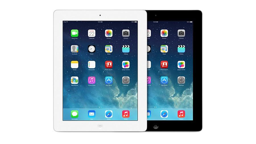 The iPad 4 has the same display as the iPad Air, but is thicker and heavier (and has a slower processor)