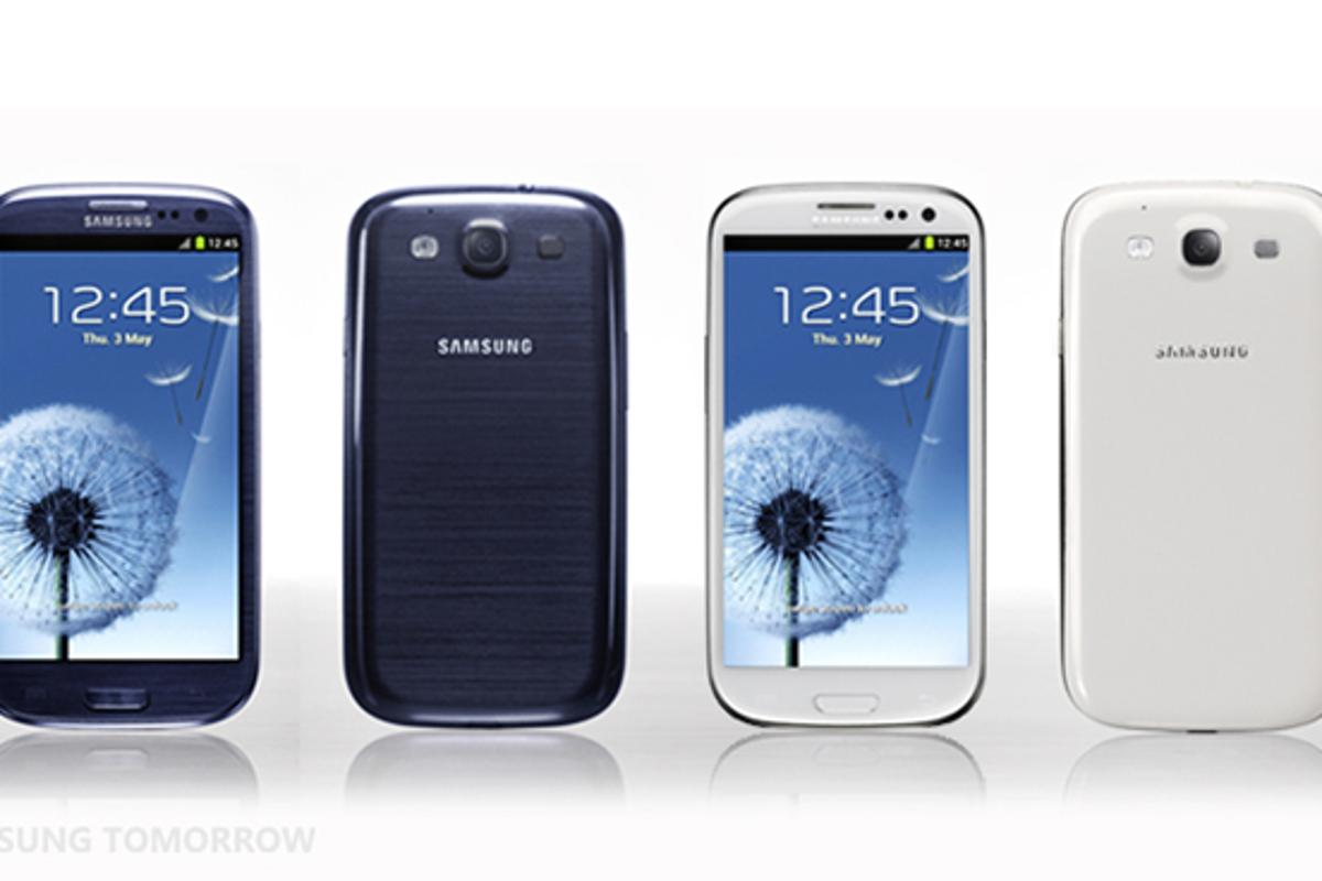 Introducing, the Galaxy S III, Samsung's new flagship Android handset
