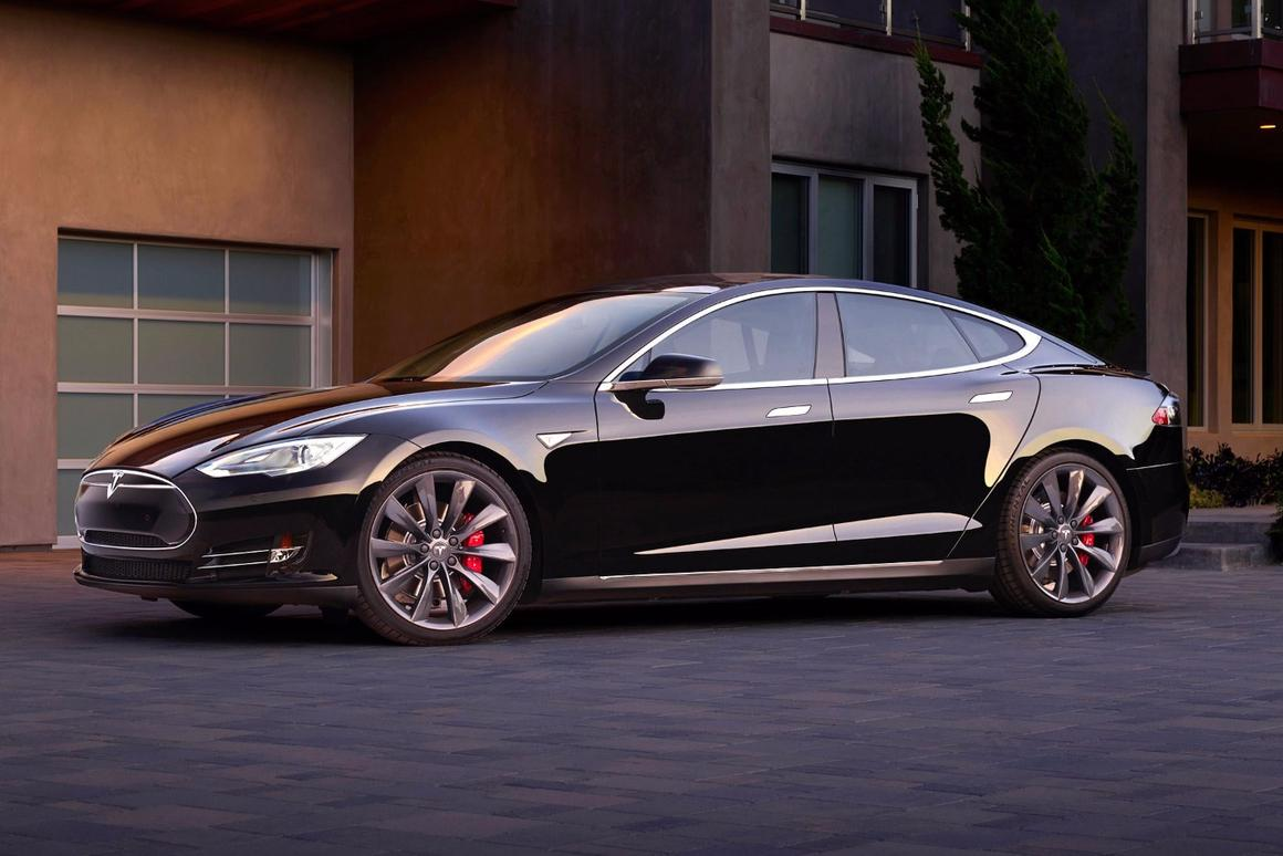 Tesla's Model S will now open the garage door, drive out and meet owners in the morning thanks to an over-the-air update
