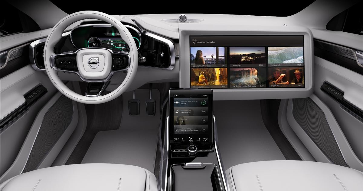 In order to deliver high-quality, interruption-free viewing in cars that are on the move, Volvo plans to both manage bandwidth provision and tailor content