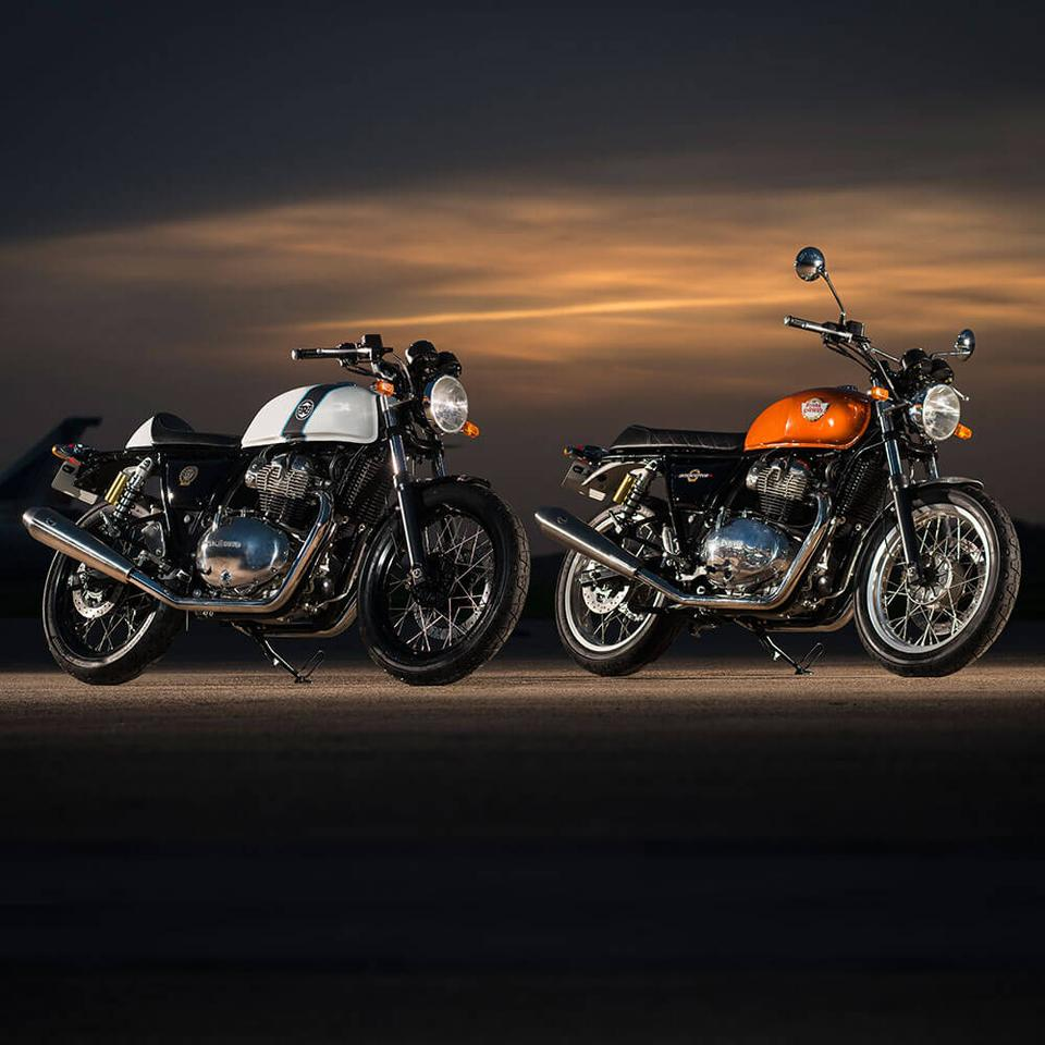 Royal Enfield's new twin will be fitted to the Continental GT 650 and Interceptor INT 650