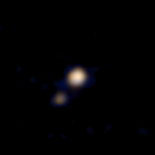 The first color image of Pluto snapped by New Horizons (Photo: NASA/Johns Hopkins University Applied Physics Laboratory/Southwest Research Institute)