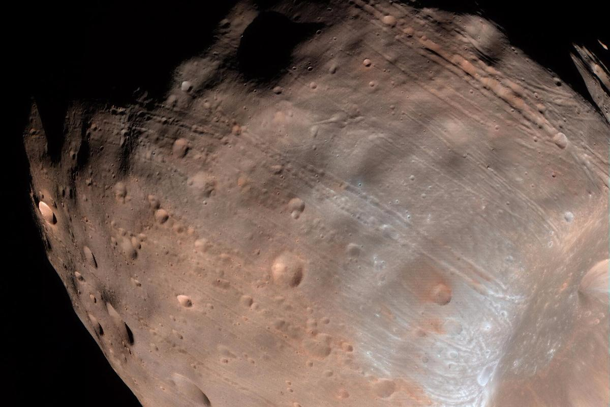 Learning more about Phobos is important, as it may serve as a future outpost of a Martian colony