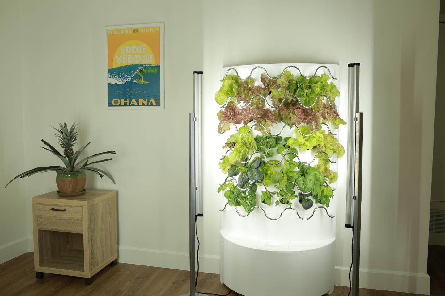 The iHarvest fully automated indoor hydroponics garden is currently raising production funds on Kickstarter