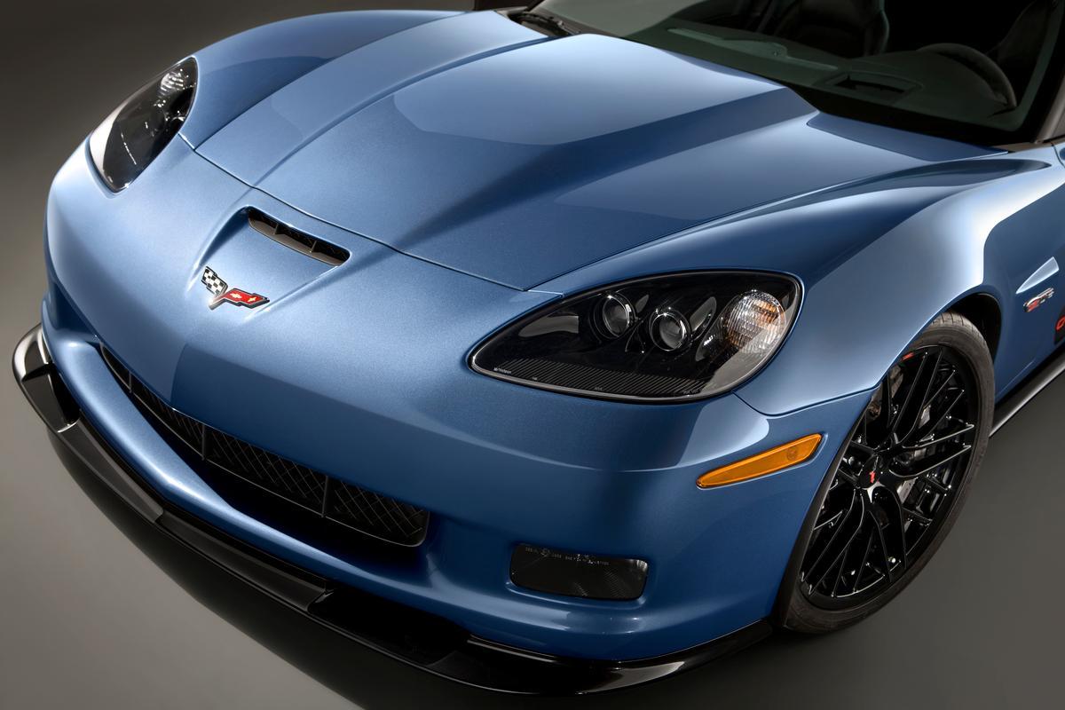 First retail Corvette Z06 Carbon up for auction