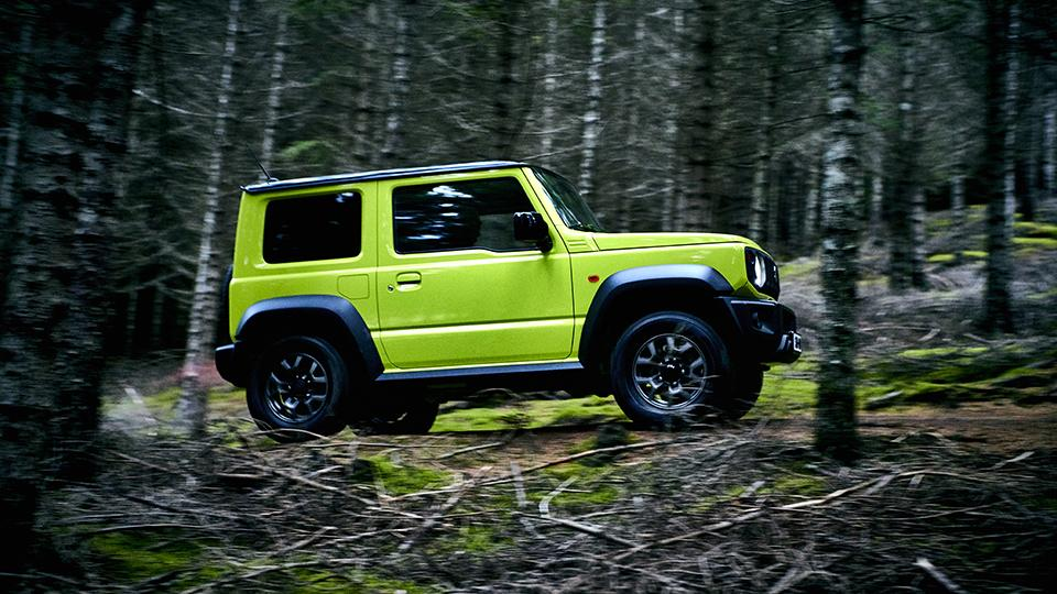 2019 Suzuki Jimny: 2-door, 4-seater