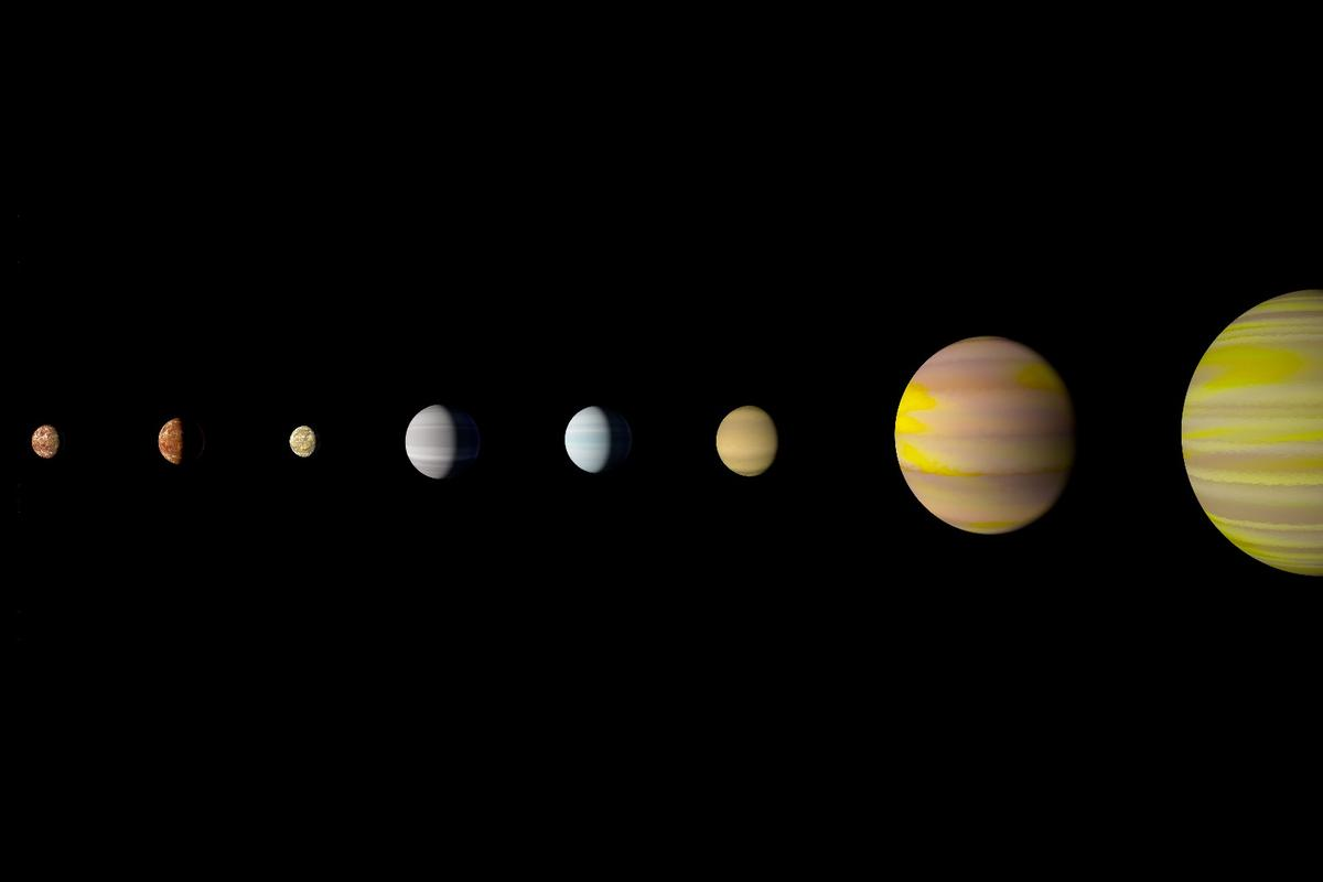 With the discovery of an eighth planet, the Kepler-90 system is the first to tie with our solar system in number of planets