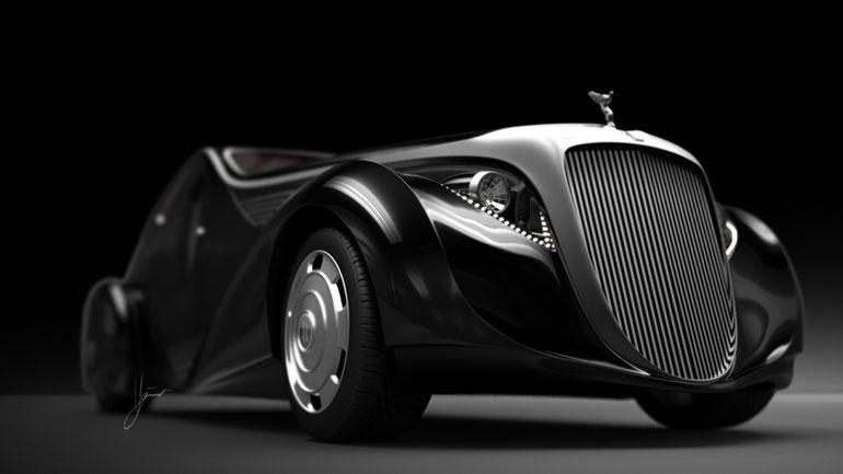 The new Rolls Royce Jonckheere Aerodynamic Coupe ll concept by Ugur Sahin Design