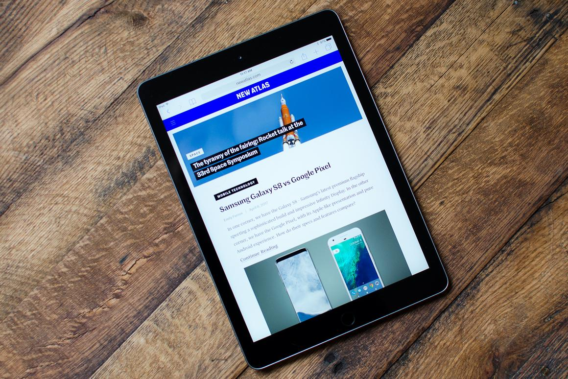 The entry-level iPad is a well-rounded device for entertainment and light productivity