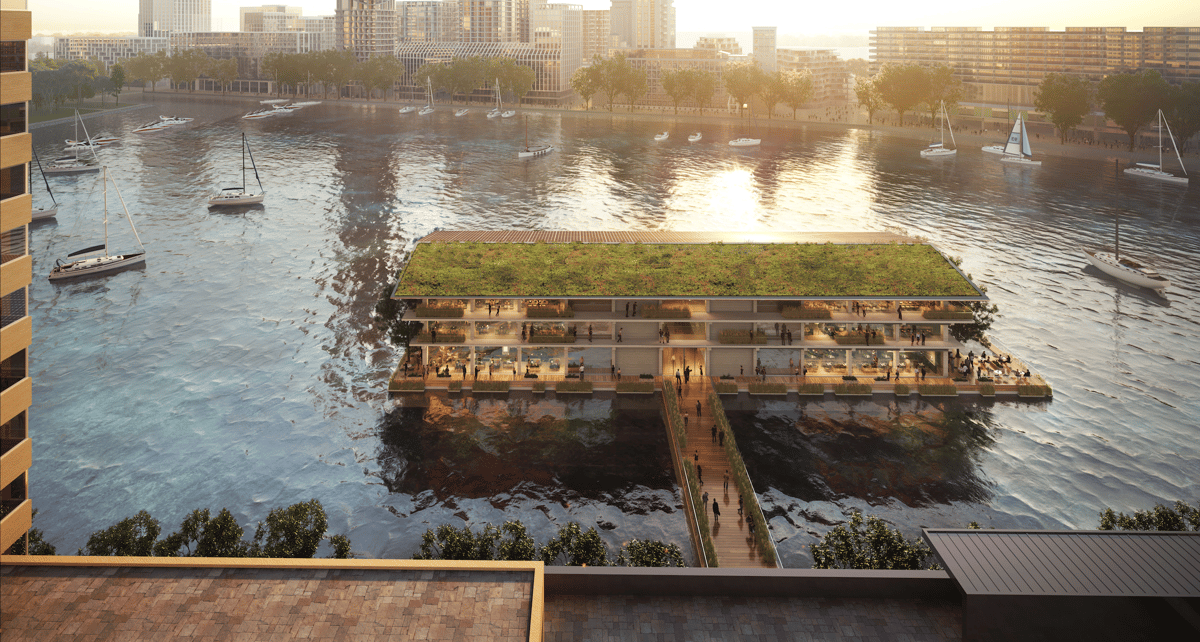 Floating Office Rotterdam is expecteed to open in late 2020
