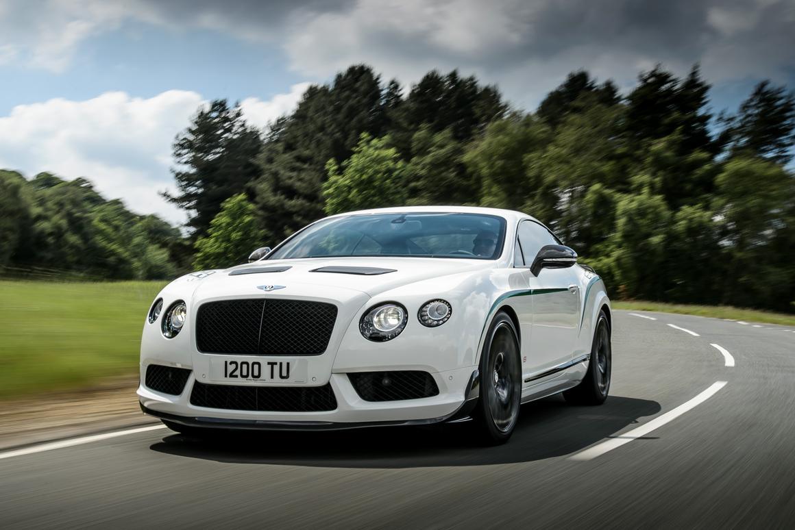 The new Bentley GT3-R