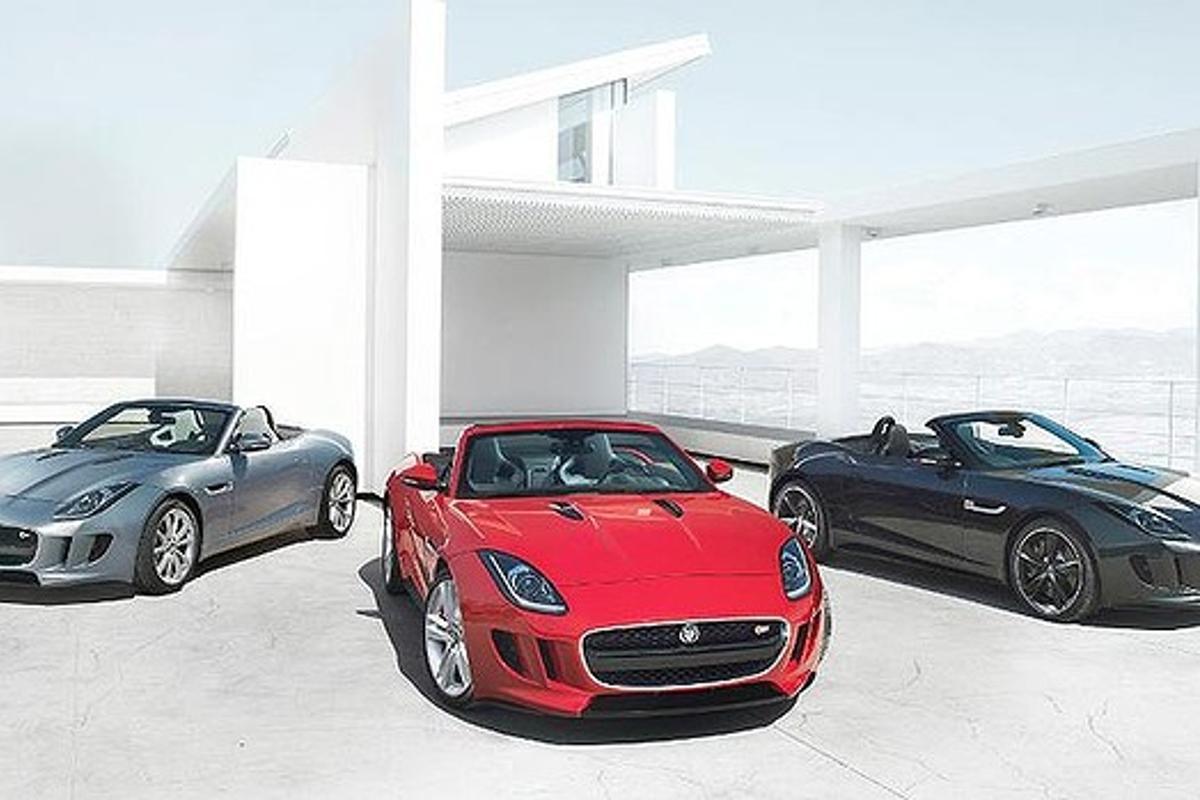 The Jaguar F-Type revealed