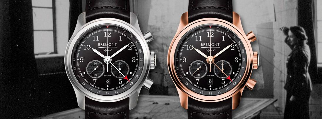 The Bremont Codebreaker comes in stainless steel or rose gold