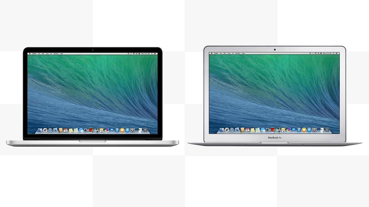 Gizmag compares the features and specs of the latest versions of the MacBook Pro with Retina Display and MacBook Air