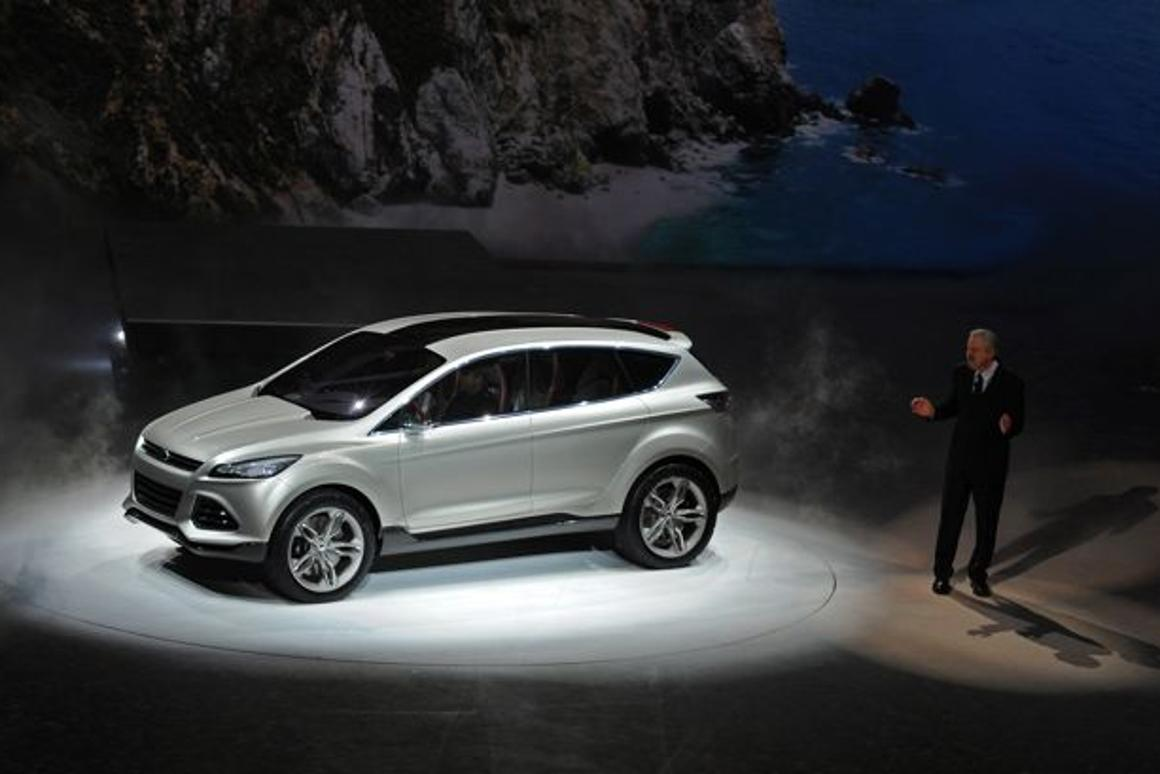 This Monday at the Detroit Auto Show 2011, Ford introduced the public to its Vertrek compact SUV concept