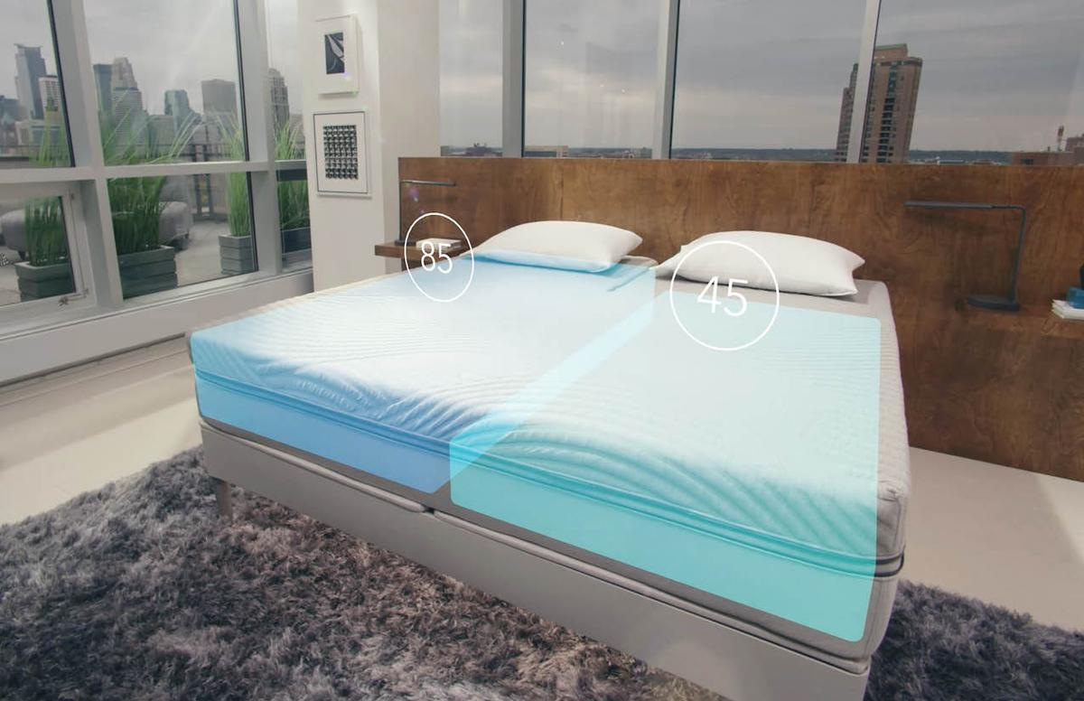 The bed's biometric sensors are claimed to detect snoring in which case the bed will automatically raise the user's head seven degrees