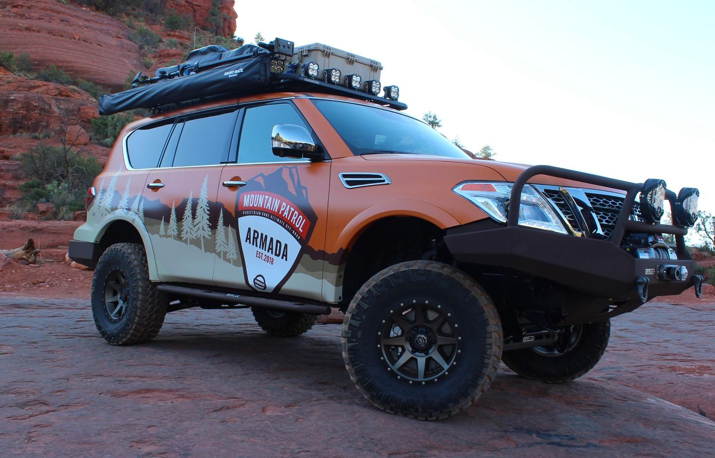 Nissan goes full-on off-road expedition with the Armada Mountain Patrol