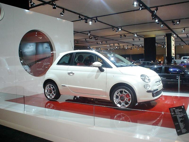 The Fiat 500 will be available to US buyers later this year (Photo: Oaktree b)