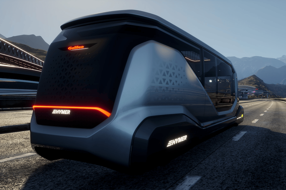 Hymer Concept Galileo self-driving camper pod