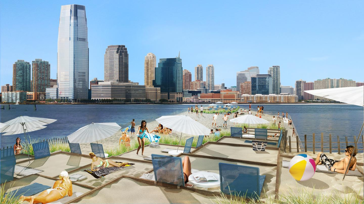 City Beach NYC will soon be the subject of a US$200,000 crowdfunding campaign on Crowdtilt (Image: City Beach NYC)
