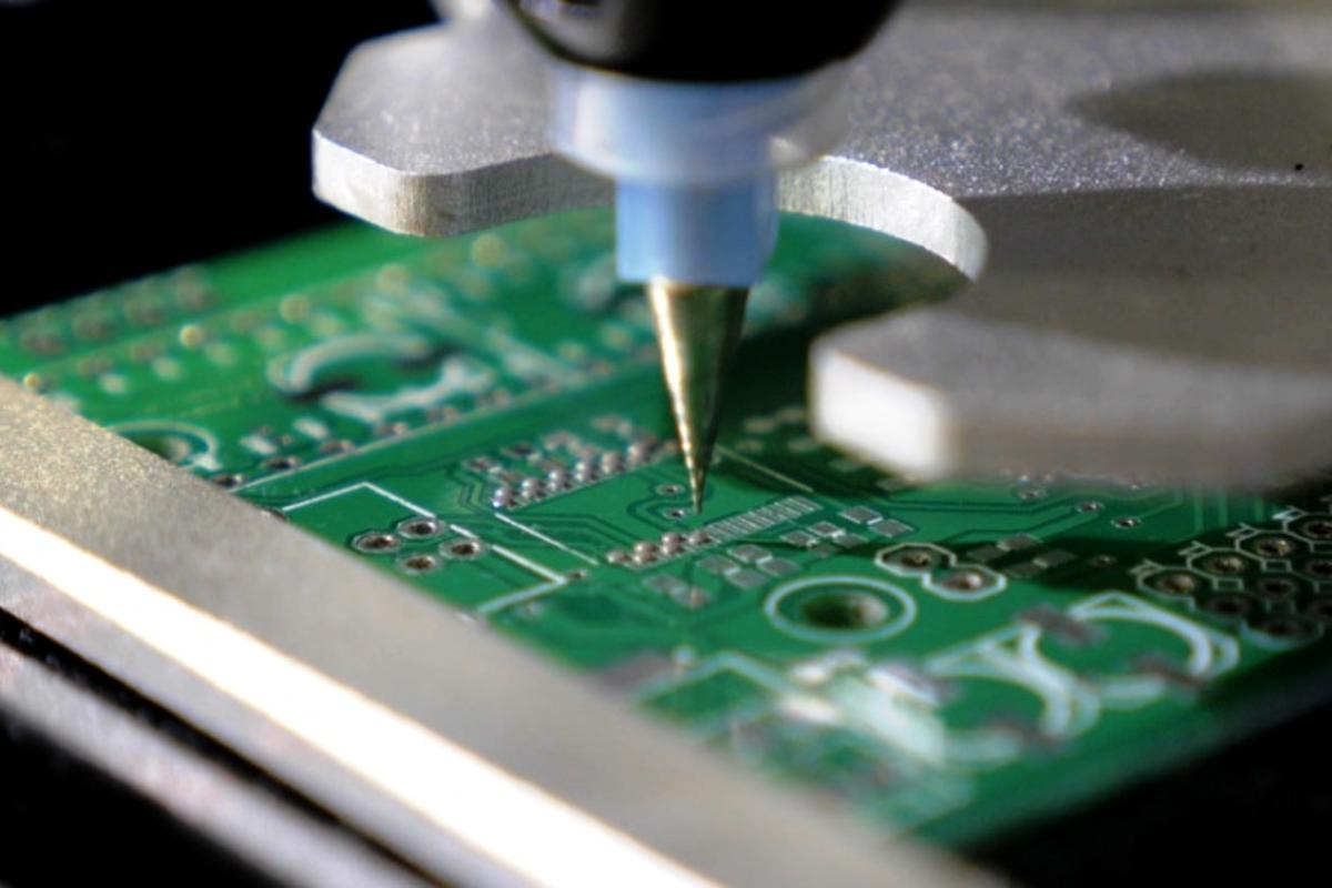 The Voltera V-One is designed to speed up and simplify the process of electronic circuit board prototyping