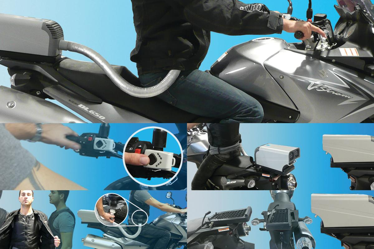 The EntroSys Motorcycle Air Conditioning system