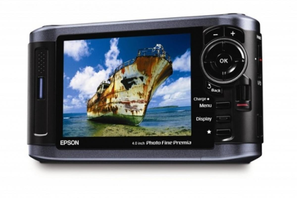 Epson P6000 photo viewer
