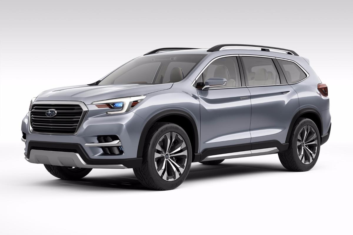 The new Subaru Ascent Concept, launched in New York