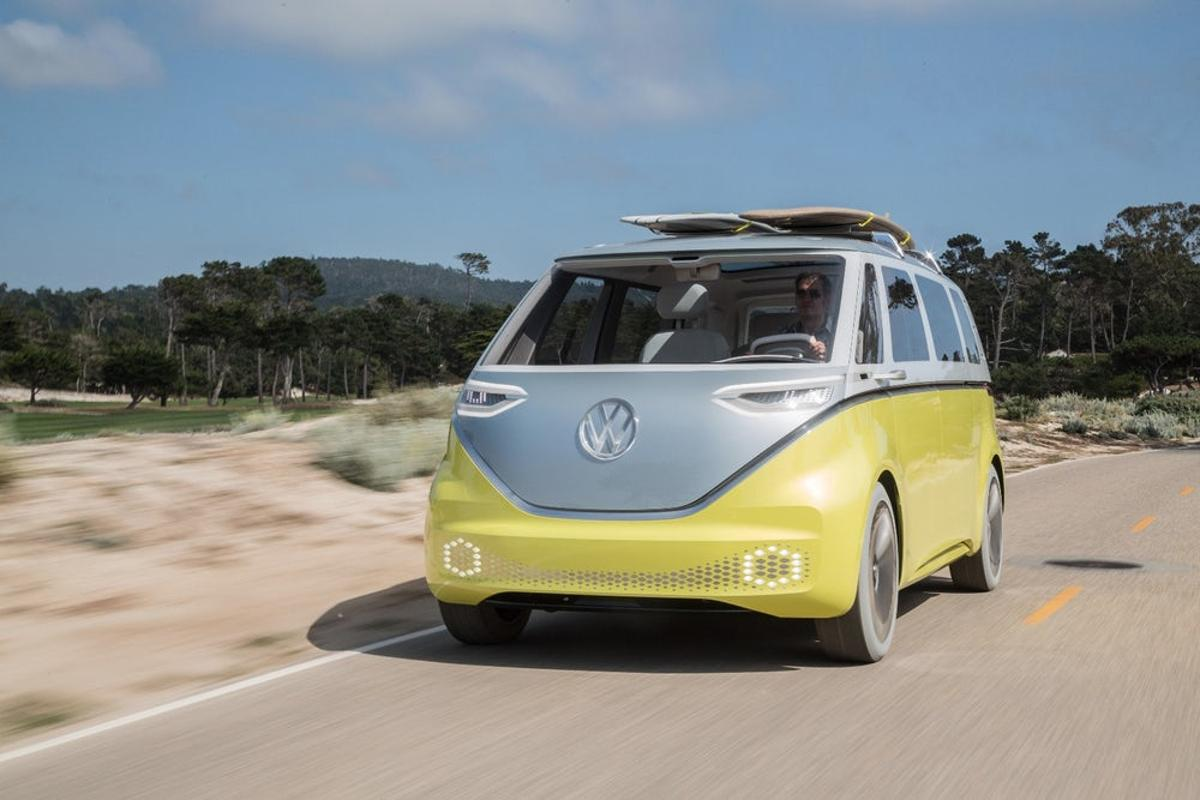Volkswagen's I.D. Buzz van will use deep learning networks to track the head movements of the driver to detect distractions