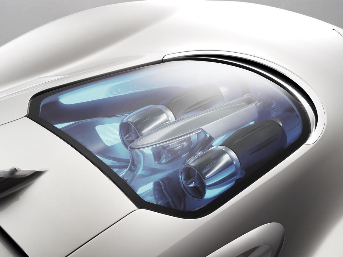 Jaguar's C-X75 concept four-wheel drive electric supercar
