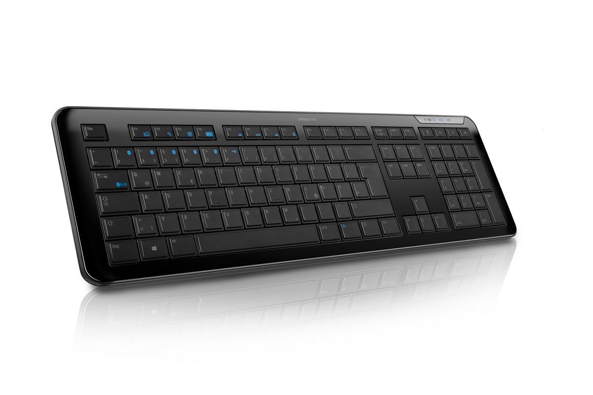 Speedlink has released the ATHERA Multi-Profile Bluetooth Keyboard