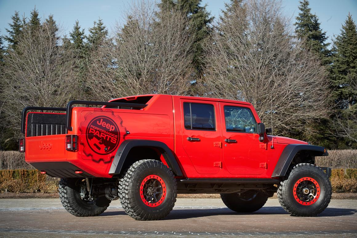 Wrangler pickup among seven Jeep concepts heading to Moab