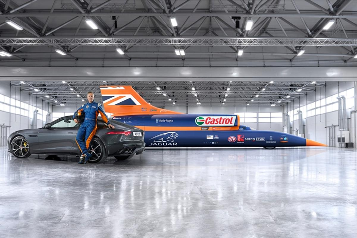 Bloudhound SSC has confirmed that the first world land speed record test runs will take place in 12 months time