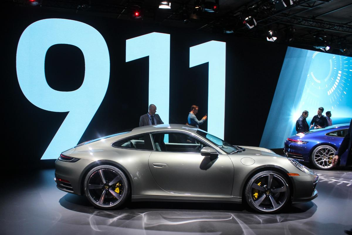 All focus on the new Porsche 911