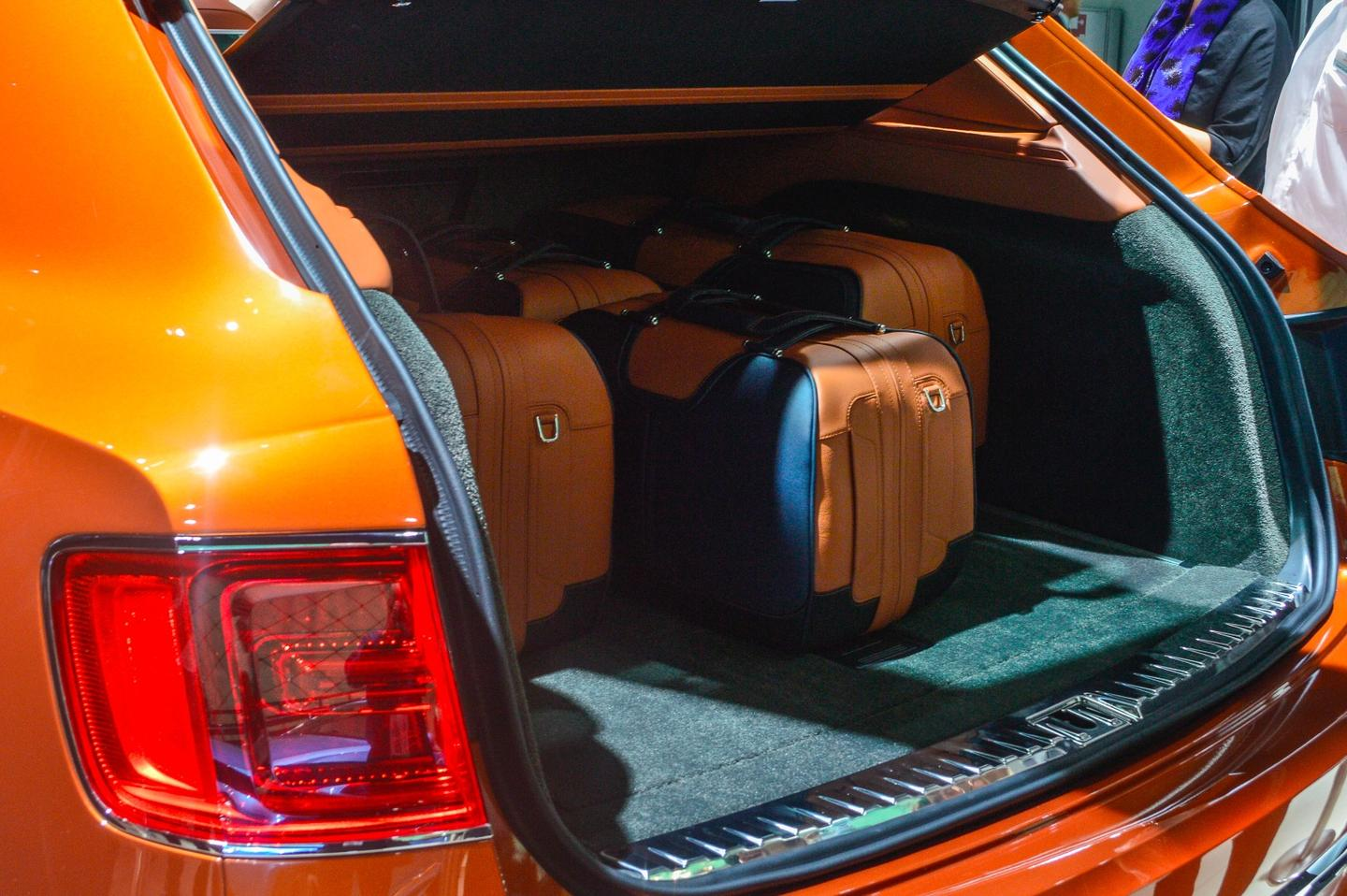 Bentley premieres its SUV, the Bentayga