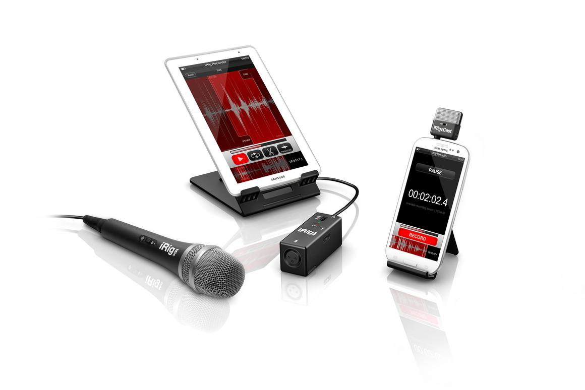 IK Multimedia has announced the launch of its first app for Android, the iRig Recorder