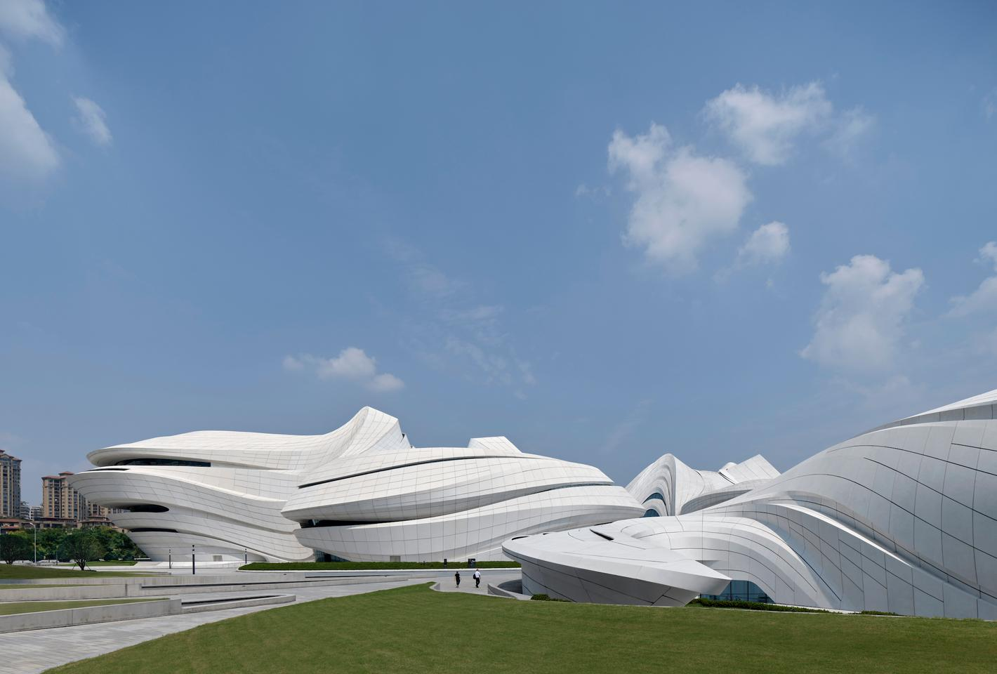 The Changsha Meixihu International Culture & Arts Centre was first conceived back in 2011