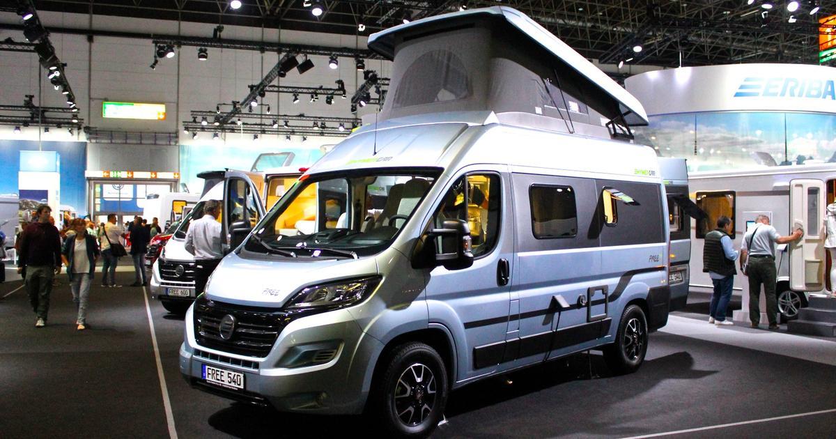 Hymercar camper van bridges the gap between buddy adventures and family vacations