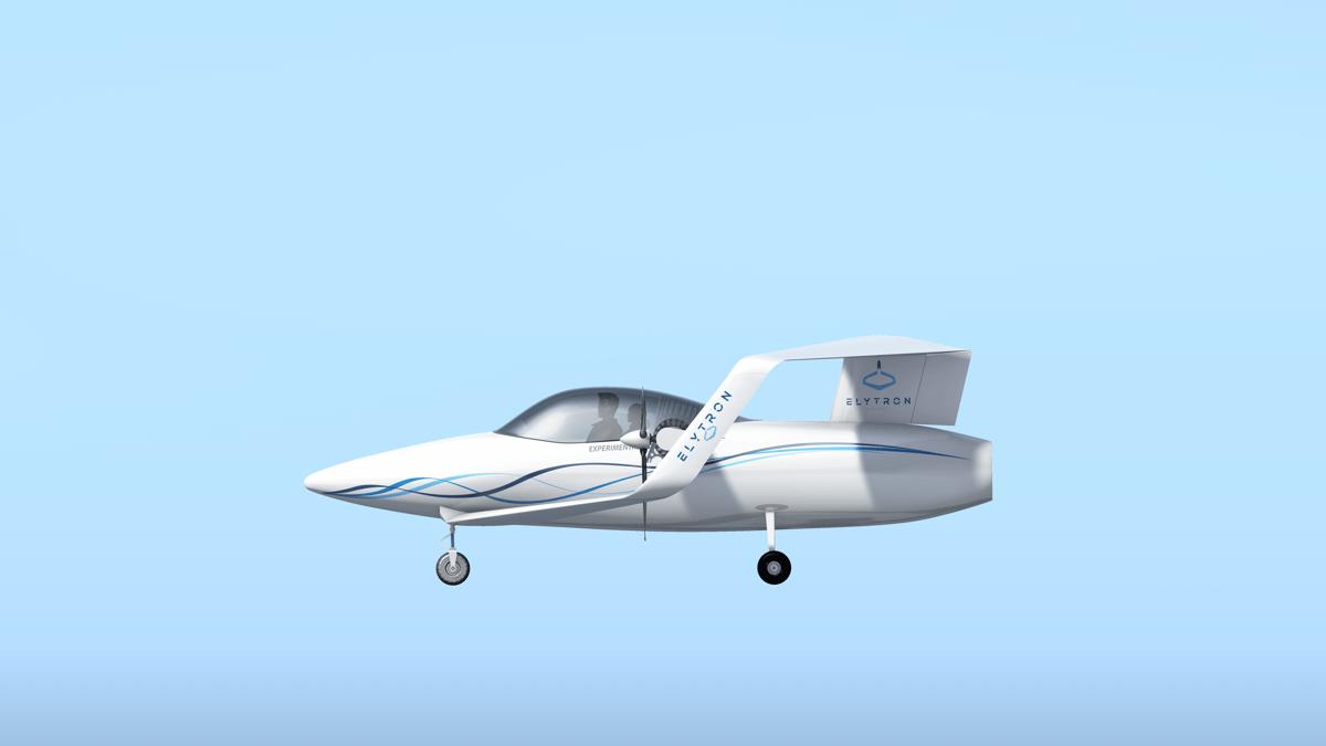 The Elytron 2S two-seater technology demonstrator design