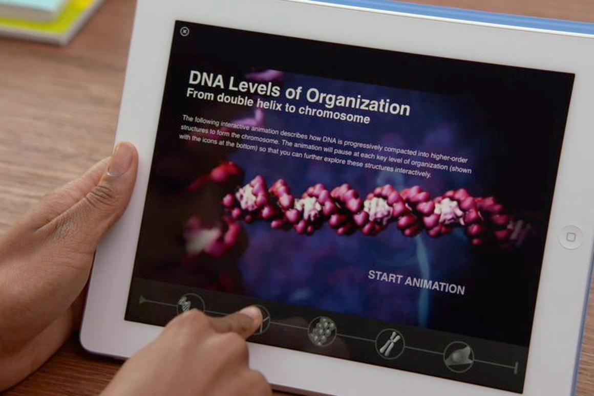 Apple has released its iBooks 2 for iPad system, which is intended to replace paper school textbooks with interactive digital iPad textbooks